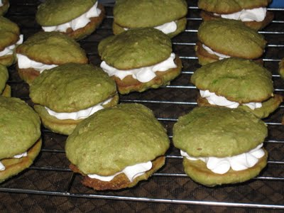 Healthy Green Tea Whoopie Pies