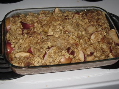 Apple Brown Betty with Oats