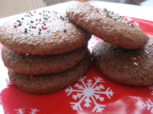 Spicy Festive Gingerbread Cookies