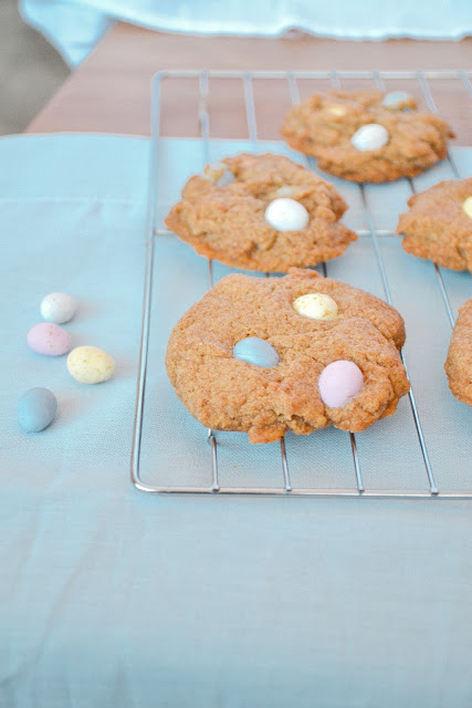 Mini Eggs Cookies