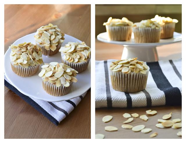 Sweet Almond Cupcakes