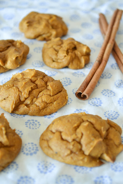Spiced Pumpkin Cookies with Walnuts