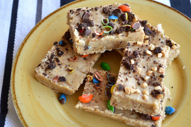 No-Bake Crunchy Peanut Butter Squares