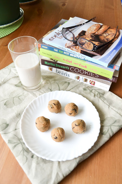 Whole Wheat Cookie Dough Bites