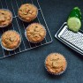 Nutty Whole Wheat Chocolate Chip Zucchini Muffins