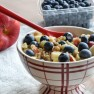 Apple and Blueberry Walnut Breakfast Quinoa