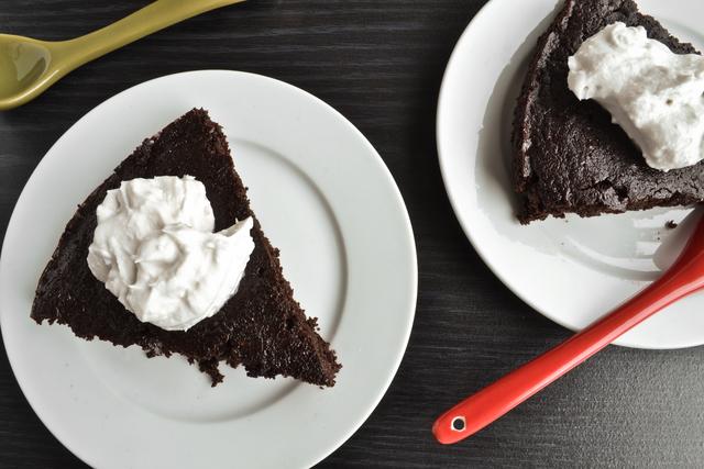Chocolate Espresso Quinoa Cake