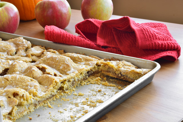 Grandma's Apple Bars