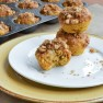 Mini Banana Pumpkin Muffins