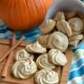 Pumpkin Pie Meringue Cookies