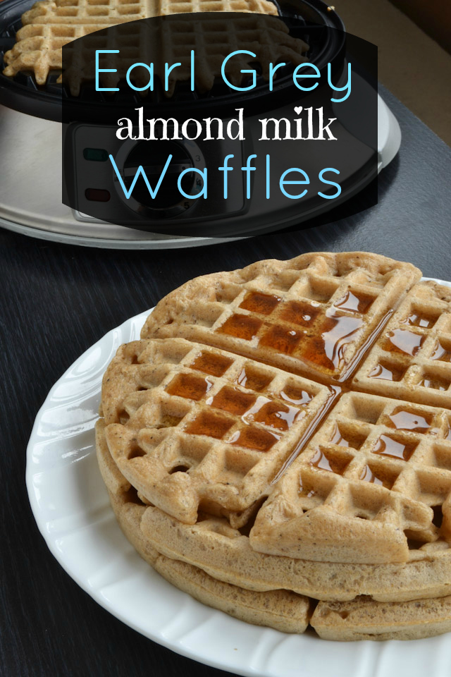 Earl Grey Almond Milk Waffles