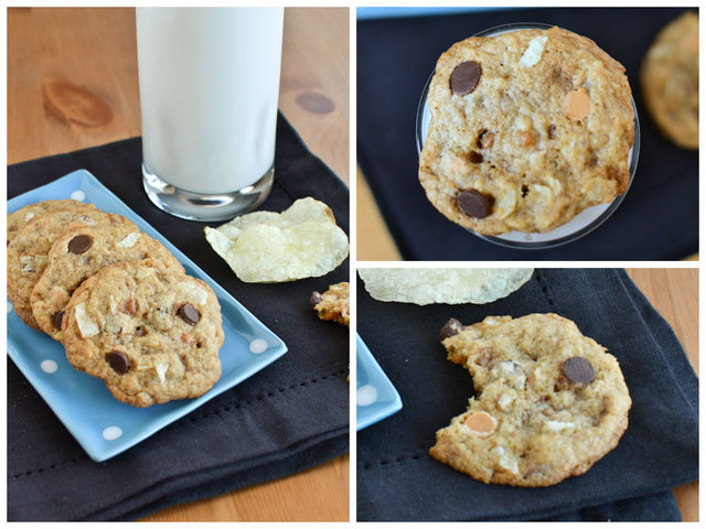 Clean Out Your Pantry Potato Chip Everything Cookies