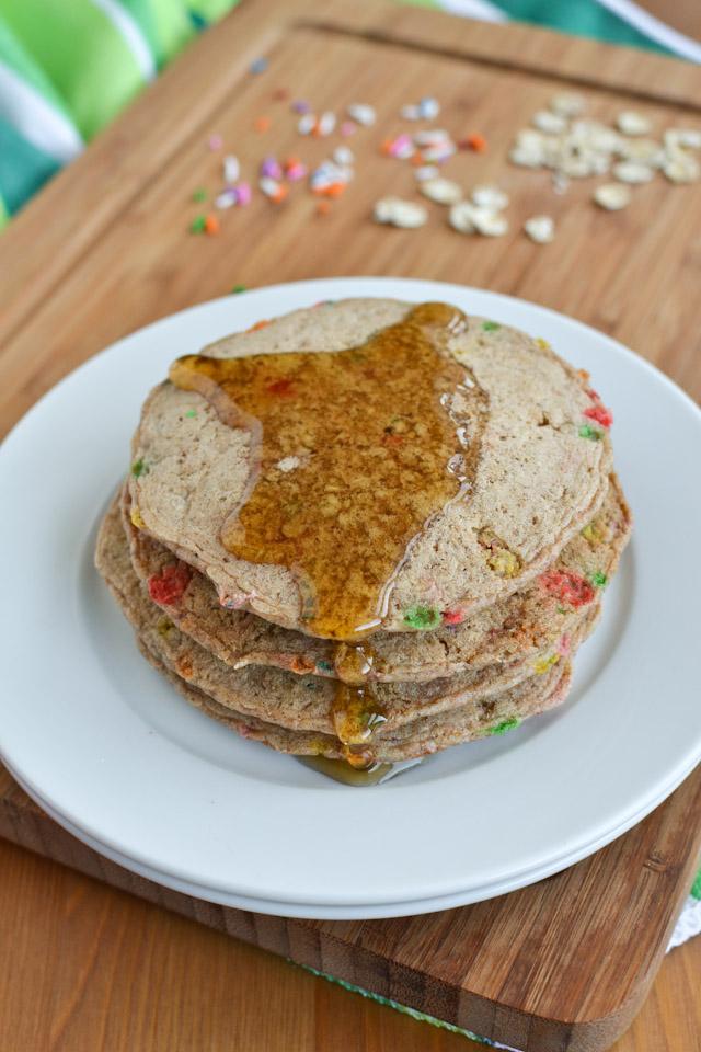 Wheat-Free Confetti Pancakes