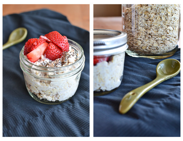 Easy Yogurt Overnight Oats