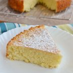 Simple Lemon Olive Oil Cake