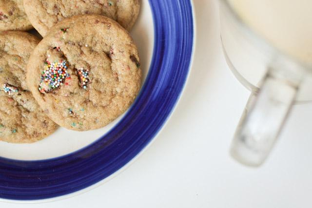 Soft Whole Wheat Chocolate Chunk Cookies