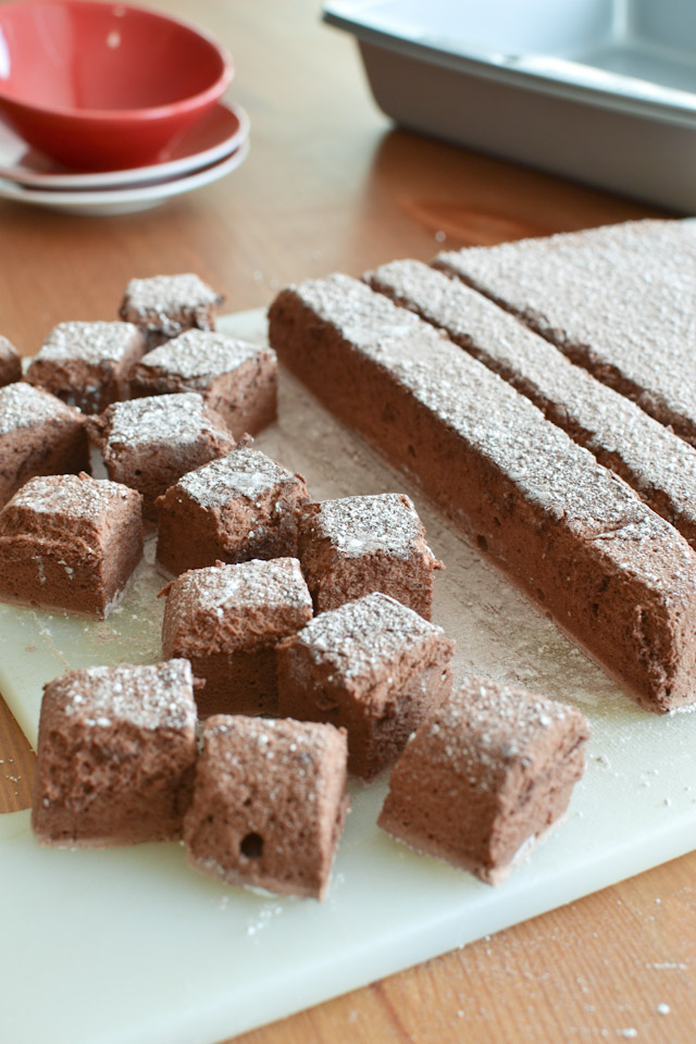 Homemade Chocolate Marshmallows