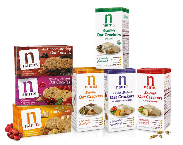 Review: Nairn's Oat Crackers and Cookies