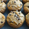 Whole Wheat Chocolate Chip Pumpkin Muffins