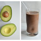 chocolateavocadosmoothiecollage