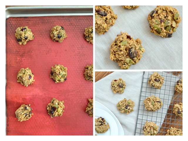 Dried Cranberry & Pepita Seed Breakfast Cookies