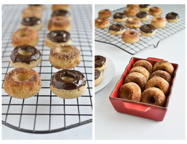 Red Lentil Baked Doughnuts
