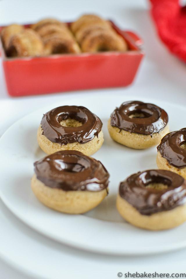 Baked Chocolate Cinnamon Doughnuts Recipes — Dishmaps