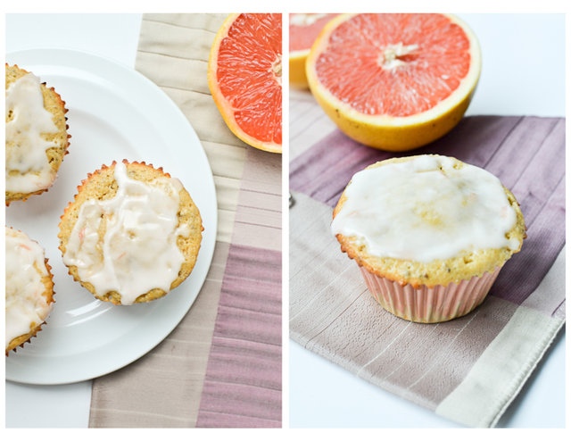 Grapefruit Chia Seed Muffins
