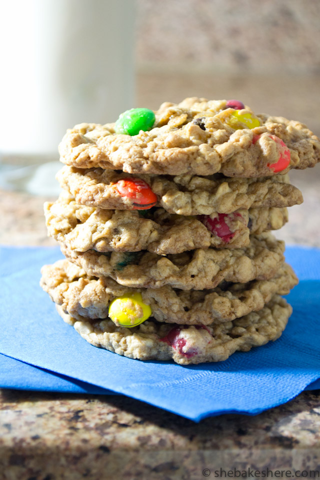 Grandma Kay's Monster Cookies