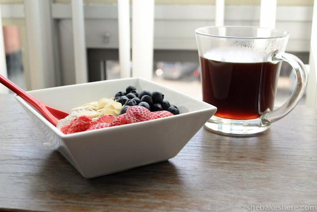 Easy Overnight Yogurt Chia Seed Breakfast Bowl