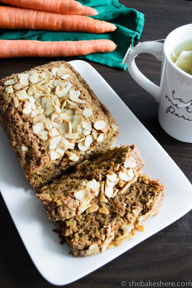 Lightly Spiced Carrot Bread