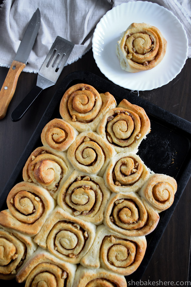 Two Hour Homemade Cinnamon Rolls